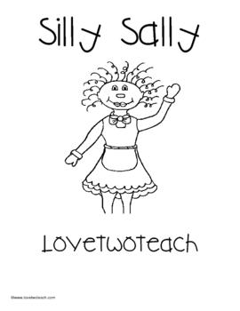 Silly Sally:  Literacy and Math Center Fun