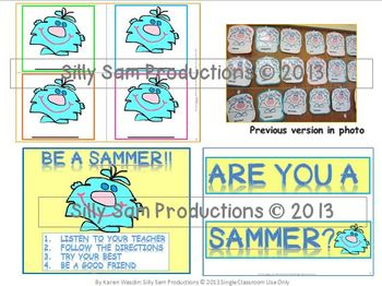 Silly Sam Back To School Pack Classroom Management System & Birthday Package