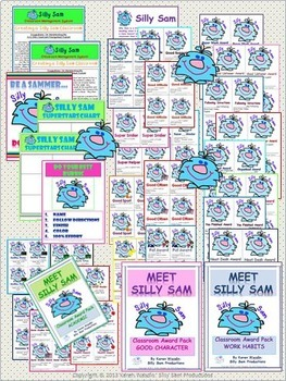 Silly Sam Classroom Management System BUNDLE