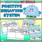 Silly Sam MY GOALS Positive Behavior Card System