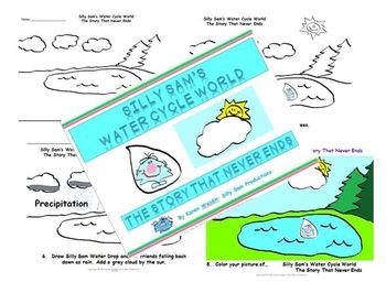 WATER CYCLE EXPERIMENT! Silly Sam's Water Cycle World