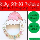 Silly Santa Masks: Speech and Language Craft