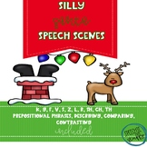 Silly Santa Speech Scenes: Christmas Activity for Articulation & Language