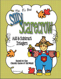 Silly Scarecrow Card Game: Add & Subtract Integers