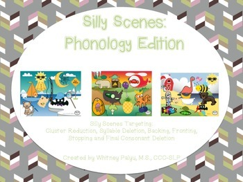 Silly Scenes Phonology Edition