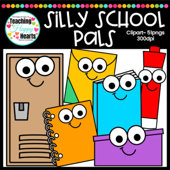 Silly School Pals Clipart