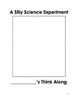 Silly Science Experiment Think Along