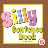 Silly Sentence Book | Literacy Skills for Preschool and Pre-K