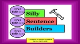 Silly Sentence Builders- Free Edition