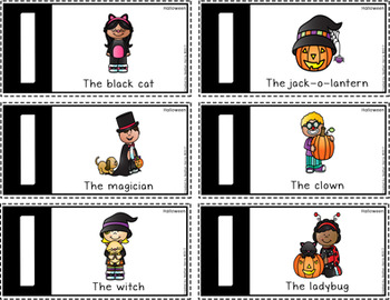 Silly Sentence Builders: Halloween