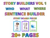 Silly Sentence Builders Vol 1: PEOPLE & CAREERS
