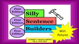 Silly Sentence Builders- with Pictures FREE