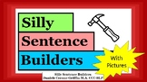 Silly Sentence Builders- with pictures