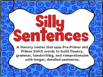 Silly Sentence Center