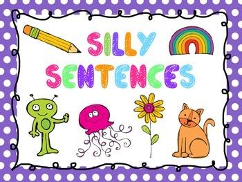 Silly Sentence FREEBIE