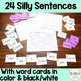 Silly Sentence SCOOT ~ Writing Complete Sentences