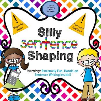 Silly Sentence Shaper- fun learning