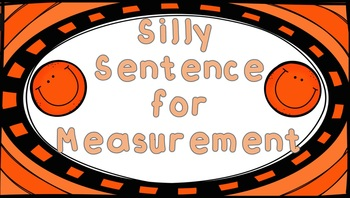 Silly Sentence for Metric Conversions Poster Set {{FREEBIE}}