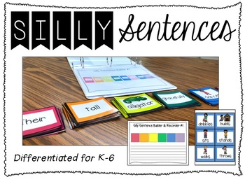 Silly Sentences (Differentiated Sets)