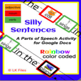 Silly Sentences - A Parts of Speech Activity for Google Docs
