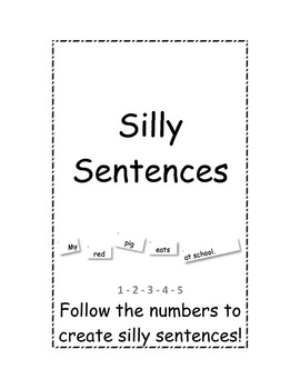 Silly Sentences Cards (English)