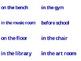 Silly Sentences Center
