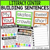 Building Sentences Center