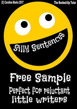 FREE! Silly Sentences - Encourage Reluctant Writers