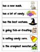 Silly Sentences {Halloween Theme}