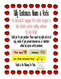 Silly Sentences: Nouns, Verbs, and Prepositional Phrases