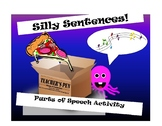 Silly Sentences Parts of Speech Activity