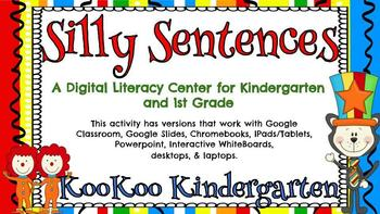 Silly Sentences (Read Across America)-A Digital Literacy Center