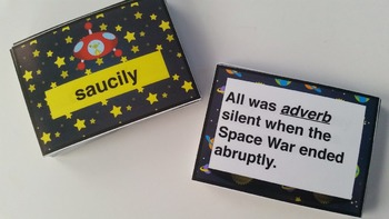 Silly Sentences: Science Fiction Version - Parts of Speech Practice