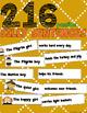 Silly Sentences {Thanksgiving Theme}