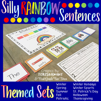 Silly Sentences Themed Sets