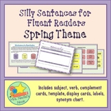 Silly Sentences Word Work Spring