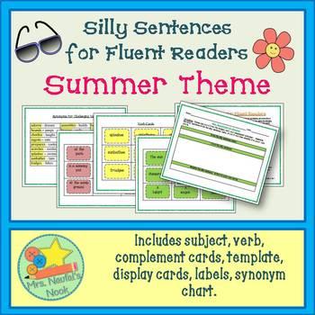 Word Work for Fluent Readers - Summer
