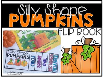 Silly Shape Pumpkin Flip Book