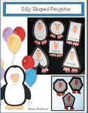 Silly Shaped Penguins Craftivity