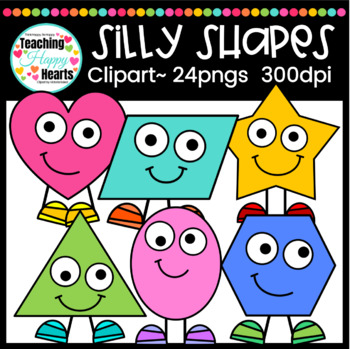 Silly Shapes Clipart