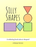 Silly Shapes Coloring and Activity Book for Freestyle Drawing