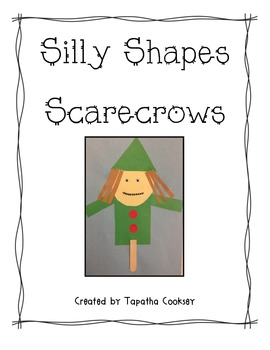 Silly Shapes Scarecrow