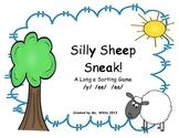 Silly Sheep Sneak! A Long /e/ Sorting Game