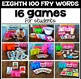 Silly Sight Word Games - Eighth 100 Fry Words