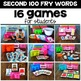 Silly Sight Word Games - Second 100 Fry Words