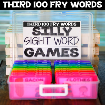 Silly Sight Word Games -Third 100 Fry Words