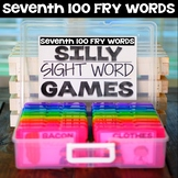 Silly Sight Word Games - Seventh 100 Fry Words