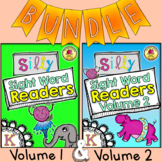 Silly Sight Word Readers Bundle Volume 1 & 2 {50 sight wor