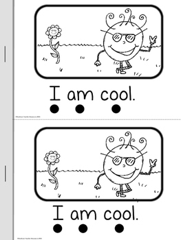 Silly Sight Word Readers SET 1 {I A THE LIKE IS}