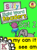 Silly Sight Word Readers SET 2 {MY AM IT SEE CAN}